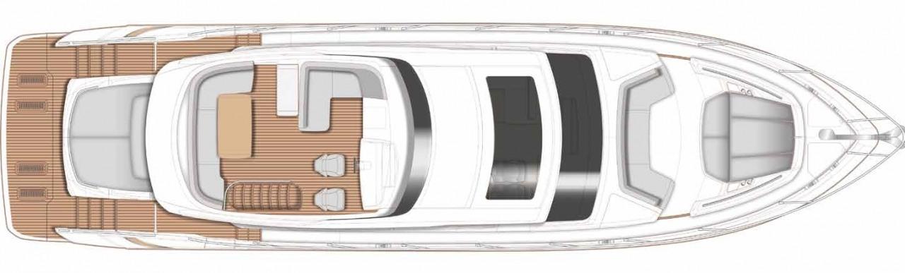 New Yacht Princess S66 For Sale Princess Yachts Monaco