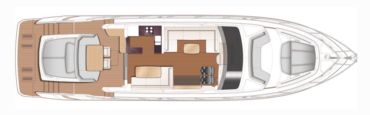 New Yacht Princess V65 For Sale Princess Yachts Monaco